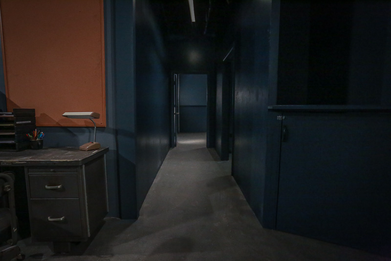 police station hallway