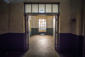 prison cell for filming